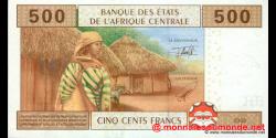 Cameroun - P206U - 500 Francs - 2002 - Banque des États de l'Afrique Centrale