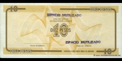 Cuba - pFX35 - 10 Pesos - ND (1991)- Banco Nacional de Cuba