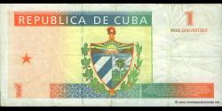 Cuba - pFX37 - 1 Peso Convertible - 1994 - Banco Nacional de Cuba