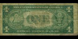 Etats Unis d'Amérique - p416b - 1 Dollar - 1935 - United States Treasury, Silver Certificate