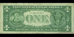 Etats Unis d'Amérique - p496b - 1 Dollar - 1995 - Federal Reserve System