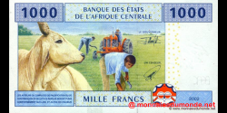 Cameroun - P207U - 1 000 Francs - 2002 - Banque des États de l'Afrique Centrale