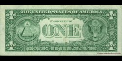 Etats Unis d'Amérique - p504 - 1 Dollar - 1999 - Federal Reserve System