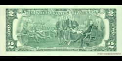 Etats Unis d'Amérique - p516b - 2 Dollars - 2003A - Federal Reserve System