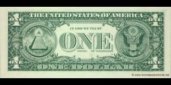 Etats Unis d'Amérique - p530 - 1 Dollar - 2009 - Federal Reserve System
