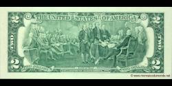 Etats Unis d'Amérique - p530B - 2 Dollars - 2009 - Federal Reserve System