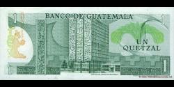 Gatemala - p059c - 1 Quetzal - 06.01.1982 - Banco de Guatemala