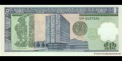 Gatemala - p115 - 1 Quetzal - 12.03.2008 - Banco de Guatemala