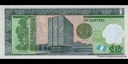 Gatemala - p121b - 1 Quetzal - 02.05.2012 - Banco de Guatemala