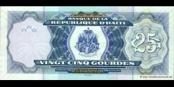 Haïti - p266c - 25 Gourdes - 2006 - Banque de la République d'Haïti
