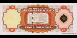 Haïti - p271A - 20 Gourdes - 2001 - Banque de la République d'Haïti