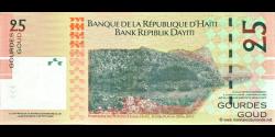 Haïti - p273 - 25 Gourdes / Goud - 2004 - Banque de la République d'Haïti / Bank Repiblik Dayiti