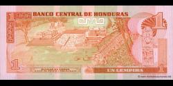 Honduras - p071 - 1 Lempira - 10.09.1992 - Banco Central de Honduras