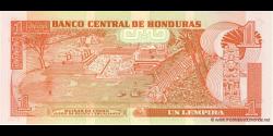 Honduras - p084e - 1 Lempira - 13.07.2006 - Banco Central de Honduras