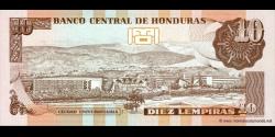 Honduras - p086c - 10 Lempiras - 26.08.2004 - Banco Central de Honduras