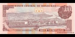 Honduras - p086d - 10 Lempiras - 13.07.2006 - Banco Central de Honduras