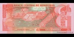Honduras - p089a - 1 Lempira - 17.04.2008 - Banco Central de Honduras
