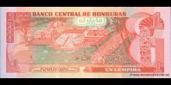 Honduras - p089b - 1 Lempira - 06.05.2010 - Banco Central de Honduras