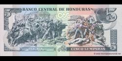 Honduras - p091a - 5 Lempiras - 13.07.2006 - Banco Central de Honduras