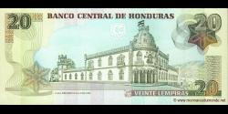 Honduras - p093a - 20 Lempiras - 13.07.2006 - Banco Central de Honduras