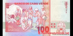 Cap - Vert - p57 - 100 Escudos - 20.01.1989 - Banco de Cabo Verde