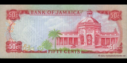 Jamaïque - p53a1 - 50 Cents - L. 1960 (1970) - Bank of Jamaica