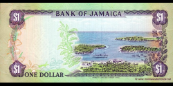 Jamaïque - p68Ac - 1 Dollar - 01.07.1989 - Bank of Jamaica