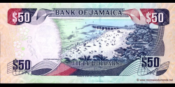 Jamaïque - p83b - 50 Dollars - 15.01.2007 - Bank of Jamaica
