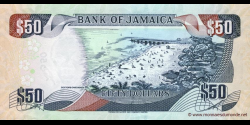 Jamaïque - p83e - 50 Dollars - 15.01.2010 - Bank of Jamaica