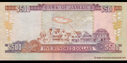 Jamaïque - p85h - 500 Dollars - 15.01.2011 - Bank of Jamaica