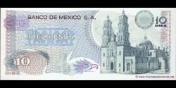 Mexique - p063i - 10 Pesos - 18.02.1977 - Banco de México S.A.