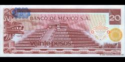 Mexique - p064c - 20 Pesos - 08.07.1976 - Banco de México S.A.