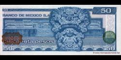 Mexique - p073 - 50 Pesos - 27.01.1981 - Banco de México S.A.
