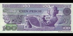 Mexique - p074c - 100 Pesos - 25.03.1982 - Banco de México S.A.