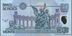 Mexique - p116e - 20 Pesos - 09.11.2005 - Banco de México