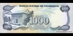 Nicaragua - p145a - 1.000 Córdobas - Res. 11.06.1985 - Banco Central de Nicaragua