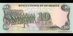 Nicaragua - p151 - 10 Córdobas - 1985 - Banco Central de Nicaragua