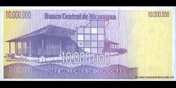 Nicaragua - p166 - 10.000.000 Córdobas - ND (1990) - Banco Central de Nicaragua
