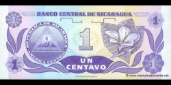 Nicaragua - p167a - 1 Centavos de Córdoba - ND (1991) - Banco Central de Nicaragua