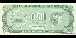Nicaragua - p172 - ½ Córdoba - ND (1992) - Banco Central de Nicaragua