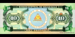 Nicaragua - p175a - 10 Córdoba - 1990 - Banco Central de Nicaragua