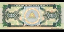 Nicaragua - p179 - 1 Córdoba - 1995 - Banco Central de Nicaragua