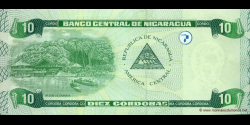 Nicaragua - p191 - 10 Córdobas - Res. 10.04.2002 - Banco Central de Nicaragua