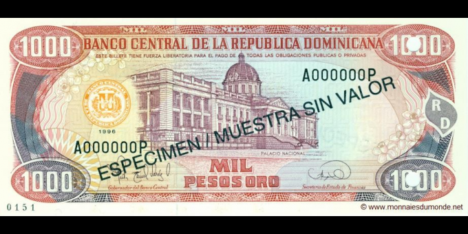 République Dominicaine-p158S