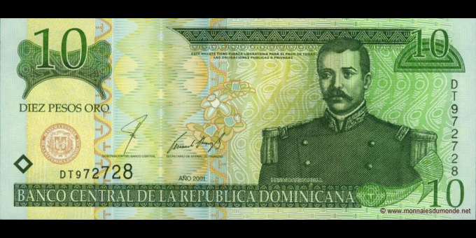 République Dominicaine-p168a