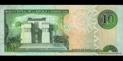 République Dominicaine - p168c - 10 Pesos Oro - 2003 - Banco Central de la República Dominicana