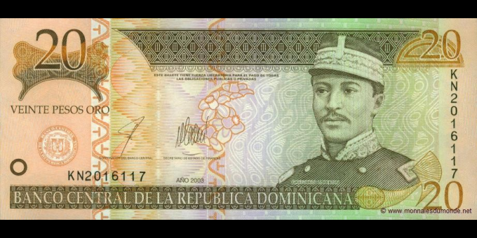 République Dominicaine-p169c