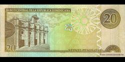 République Dominicaine - p169c - 20 Pesos Oro - 2003 - Banco Central de la República Dominicana