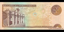 République Dominicaine - p169d - 20 Pesos Oro - 2004 - Banco Central de la República Dominicana