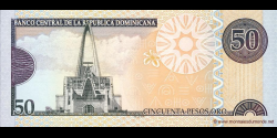 République Dominicaine - p176b - 50 Pesos Oro - 2008 - Banco Central de la República Dominicana
